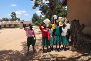 The Water Project: Mwichina Primary School -  Lets Go Fetch Water