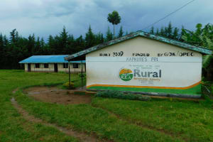 The Water Project: Kapkures Primary School -  Side Of School Building