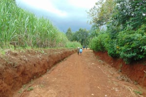 The Water Project: Namarambi Community, Iddi Spring -  Road To The Spring
