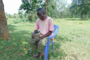 The Water Project: Munenga Community, Francis Were Spring -  Gideon Mutiso