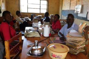 The Water Project: Ebukhuliti Primary School -  School Staffroom