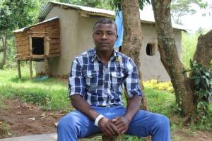 The Water Project: Kalenda B Community, Lumbasi Spring -  Mr Elphas Lumbasi Spring Landowner