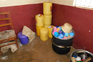 The Water Project: Ebukhuliti Primary School -  Water Storage And Cups