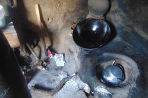 The Water Project: Mukangu Community, Metah Spring -  Kitchen Of Mama Ruth