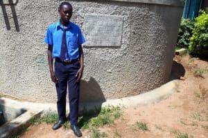 The Water Project: Samson Mmaitsi Secondary School -  Johnson Bulemi