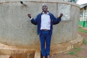 The Water Project: Injira Secondary School -  Health And Sanitation Teacher Mr Daniel Inziani