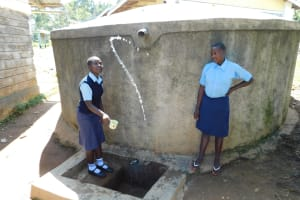 The Water Project: Muyere Secondary School -  Having Fun With Water