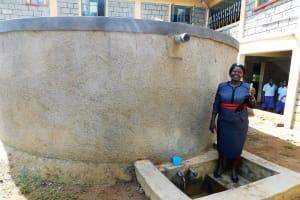 The Water Project: Eshisenye Girls Secondary School -  School Principal Mildred Were Osore