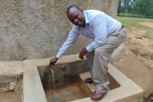 The Water Project: Eshiamboko Primary School -  Mr Elphas Olocho