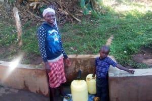 The Water Project: Mwichina Community, Mwichina Spring -  Jane Mandela