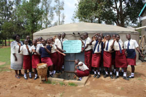 The Water Project: St. Theresa's Bumini High School -  Thank You