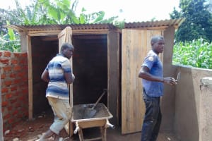 The Water Project: Irovo Orphanage Academy -  Latrine Construction