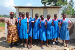 The Water Project: Irovo Orphanage Academy -  Thumbs Up For Latrines