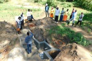 The Water Project: Shihingo Community, Inzuka Spring -  Site Management Training