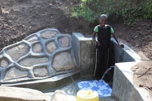 The Water Project: Eshikhugula Community, Shaban Opuka Spring -  Smiles For Flowing Water