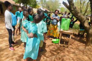 The Water Project: Makunga Primary School -  Handwashing Training