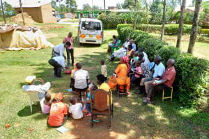 The Water Project: Shihingo Community, Inzuka Spring -  Growing Audience