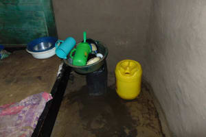 The Water Project: Namarambi Community, Iddi Spring -  Water Storage Plastic Containers