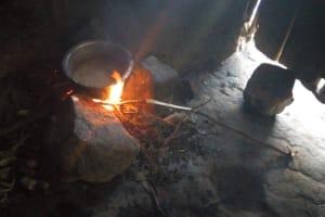 The Water Project: Sambaka Community, Sambaka Spring -  Cooking Stove