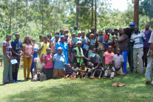The Water Project: Buhayi Community, Nasichundukha Spring -  Group Photo After Training