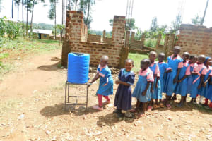 The Water Project: Irovo Orphanage Academy -  Lining Up For Handwashing