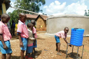 The Water Project: Irovo Orphanage Academy -  Washing Hands
