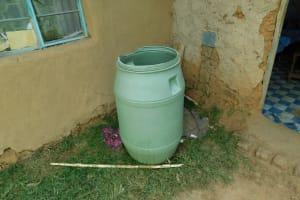 The Water Project: Emurumba Community, Makokha Spring -  Water Storage