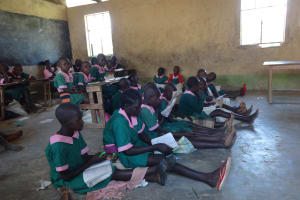 The Water Project: Mwichina Primary School -  Students In Class