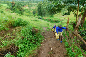 The Water Project: Kapkures Primary School -  On The Path Back To School