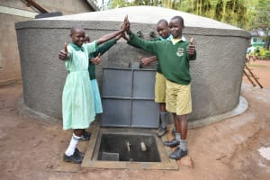 The Water Project: Makunga Primary School -  Cheers