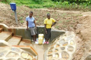 The Water Project: Shihingo Community, Inzuka Spring -  Laughter
