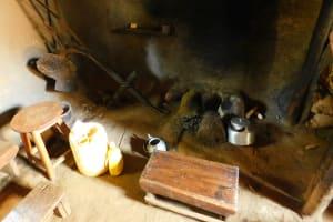 The Water Project: Ewamakhumbi Community, Mukungu Spring -  Inside A Kitchen