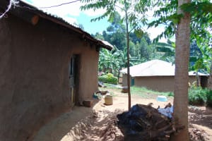 The Water Project: Kimarani Community, Kipsiro Spring -  A Backyard