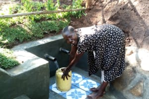 The Water Project: Buhayi Community, Nasichundukha Spring -  Smiles For Flowing Water