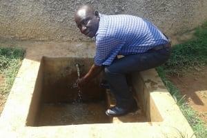 The Water Project: Mulwakhi Secondary School -  Deputy Head Teacher Aggrey Kadagi