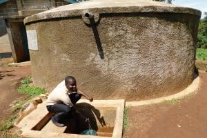 The Water Project: Erusui Secondary School -  Calvar Alionya