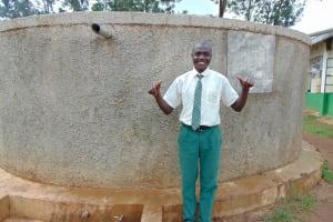 The Water Project: Injira Secondary School -  Dennis Isiaho
