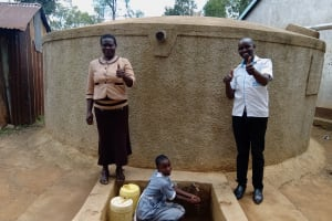The Water Project: Emmaloba Primary School -  Judith Mary And Wilson