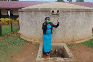 The Water Project: Imusutsu High School -  Teacher Mrs Doreen Imungu
