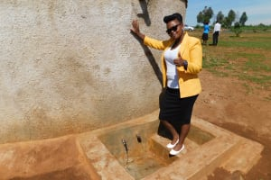 The Water Project: Sipande Secondary School -  Field Officer Jacklyne Chelagat
