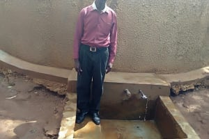 The Water Project: Eshilibo Primary School -  Sanitation And Health Teacher Mr Isaac Anunda