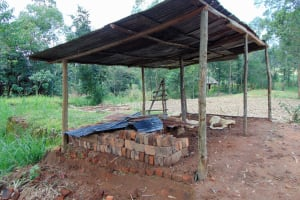 The Water Project: Bukhaywa Community, Ashikhanga Spring -  Bricks For Sale