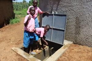 The Water Project: Irovo Orphanage Academy -  Boys At The Rain Tank