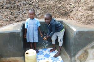 The Water Project: Shihingo Community, Inzuka Spring -  Camera Shy