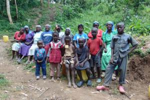 The Water Project: Shamiloli Community, Kwasasala Spring -  Training Participants