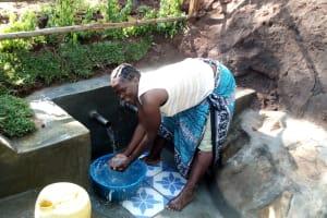 The Water Project: Buhayi Community, Nasichundukha Spring -  A Celebratory Cool Down