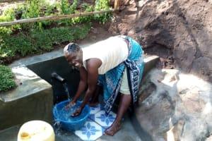 The Water Project: Buhayi Community, Nasichundukha Spring -  Celebratory Cool Down