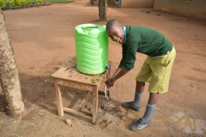 The Water Project: Makunga Primary School -  Handwashing
