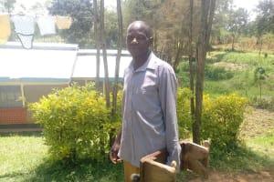 The Water Project: Bukhaywa Community, Ashikhanga Spring -  Peter Jairus Ashikhanga Spring Landowner