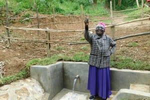 The Water Project: Shamiloli Community, Kwasasala Spring -  Triumph